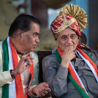 Revered Prof Dr Vishwanath Karad with Dr