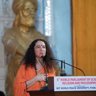 speech by Sadhvi Dr Bhagwati Saraswati.j