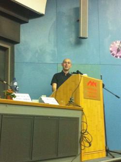 Hosting a panel at Haifa University