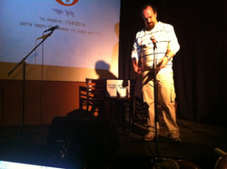 Yuri Gagrin's day, my book on stage