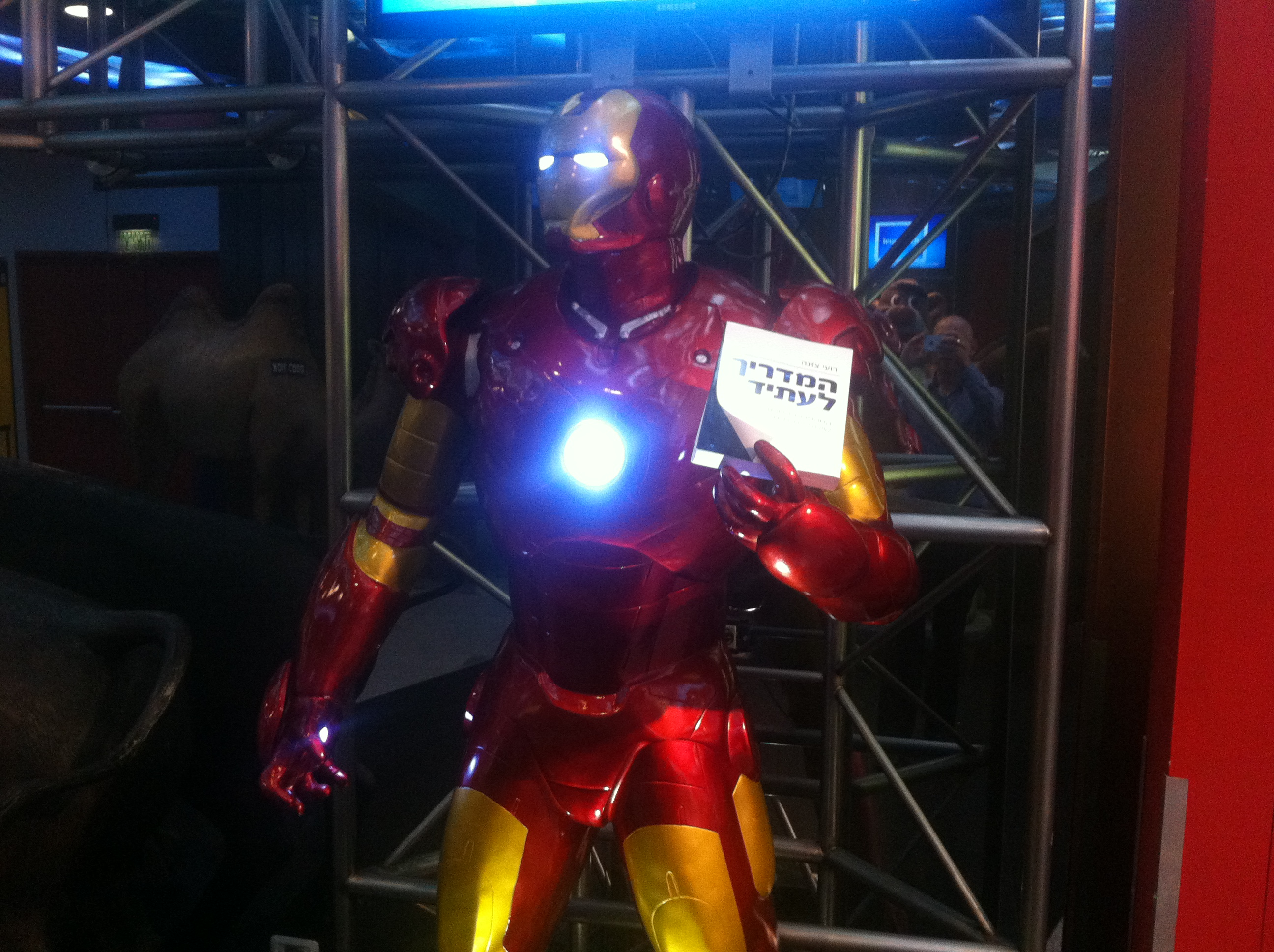 Ironman likes my book!