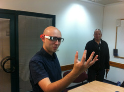 Seeing the future - augmented realit