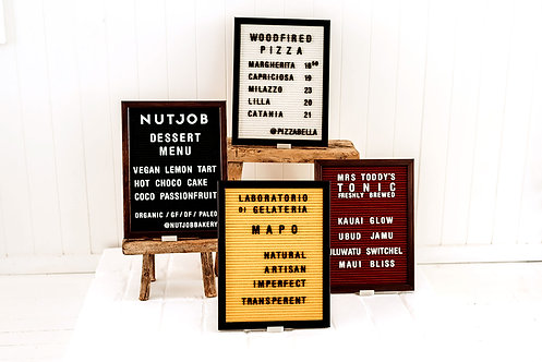 Small Letter Boards