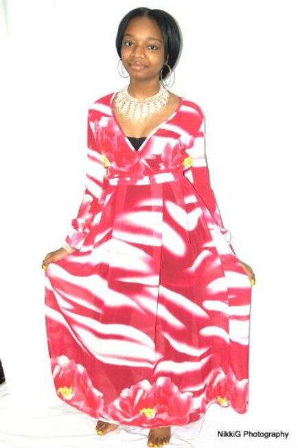 Summer Beach Chiffon Maxi Dress