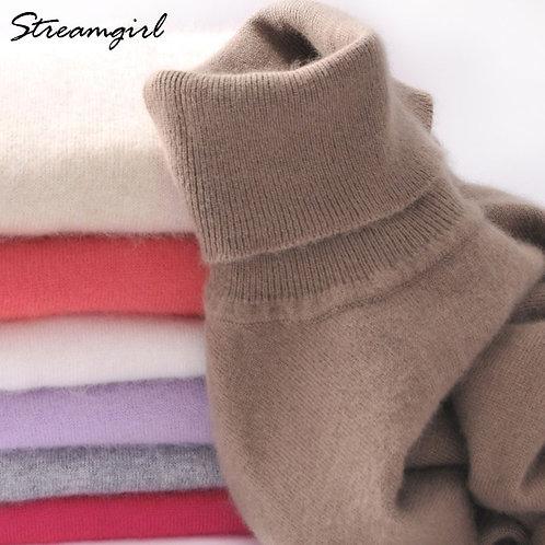 Cashmere Turtleneck Cashmere Sweater