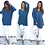 Thumbnail: Women V-Neck Long Sleeve Pullovers Loose Knitted Sweater