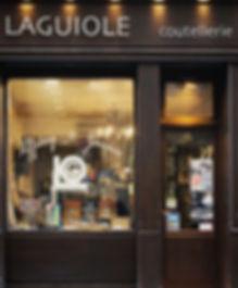 Laguiole Cutlery Store Paris