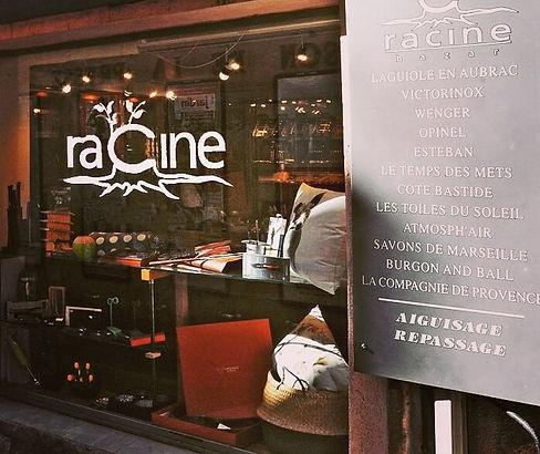 Coutellerie Laguiole Rodez: Racine