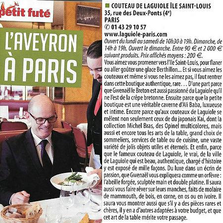 Laguiole Knives Paris
