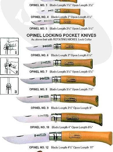 Opinel Knives Saint Emilion