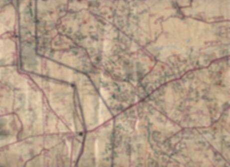 רמת הגולן - אזור חאן ארנבה - מפת שליטה