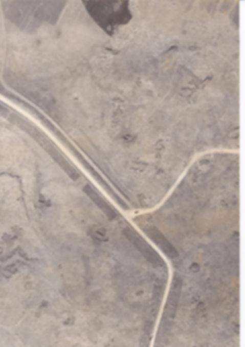 מיכה - תצלום אויר  של אזור הקרב  צולם ימ