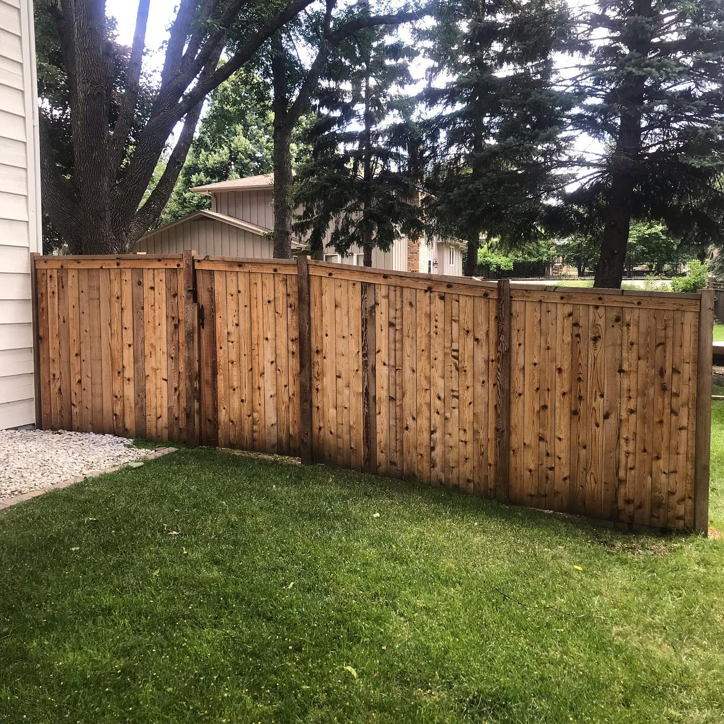 6ft Privacy Cedar Capped