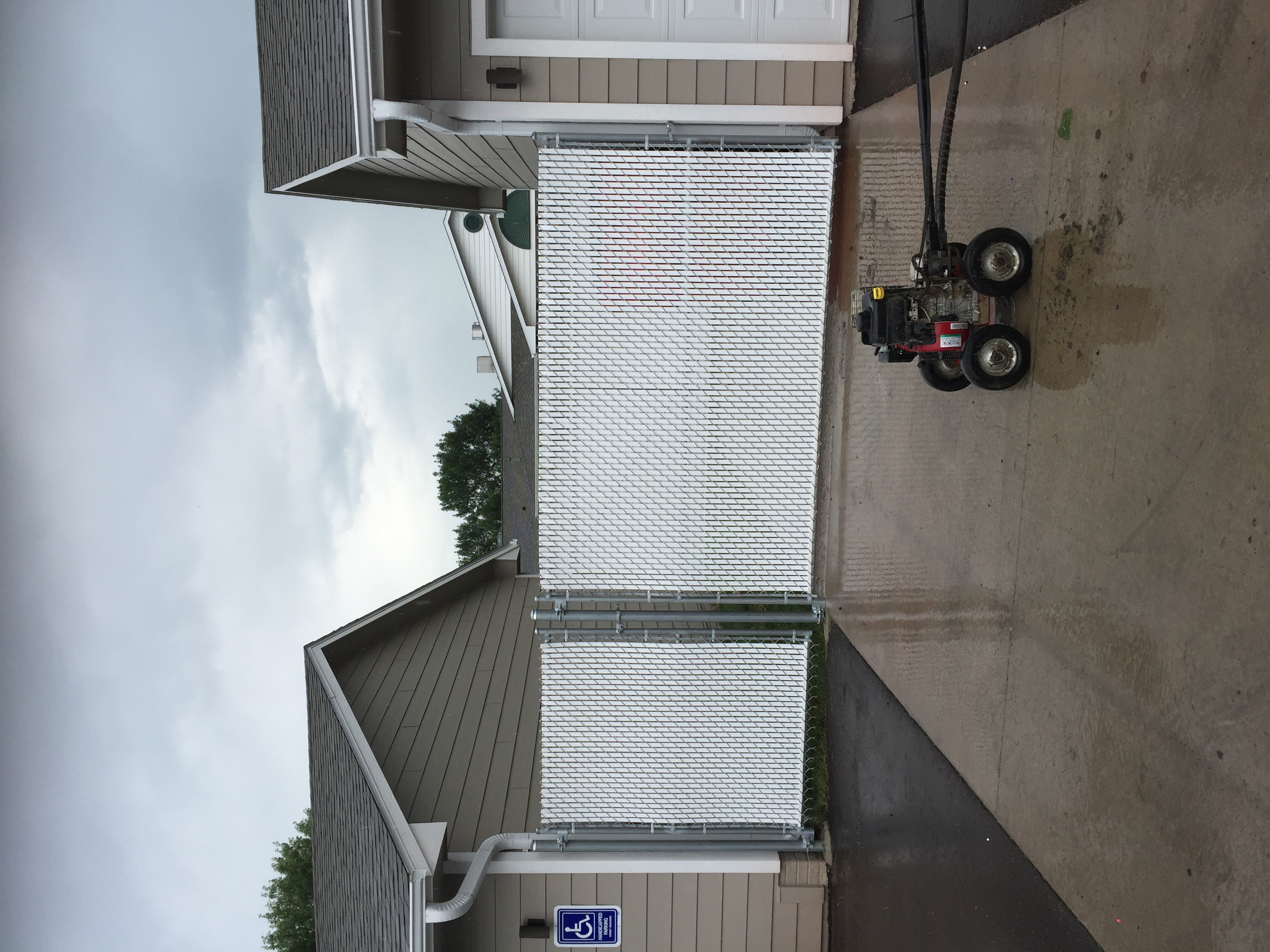 6ft Privacy Chainlink w/ PDS Slats