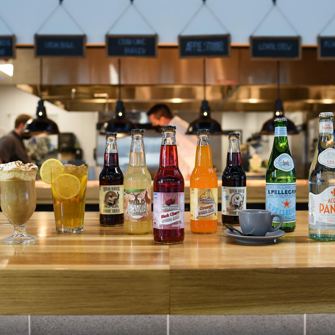 Northwood's Soda Selection