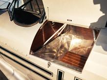 WACO YMF-5 Baggage Compartment
