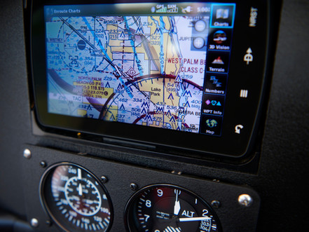 Garmin GPS with Moving Map