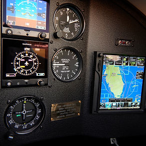 Custom Instrument Panel - Brand New WACO YMF-5 with Garmin Avionics