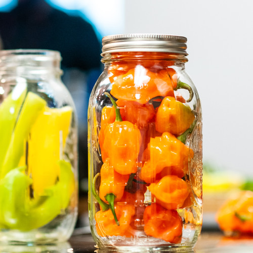 Homemade Marinated Peppers