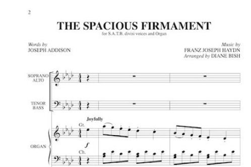 The Spacious Firmament
