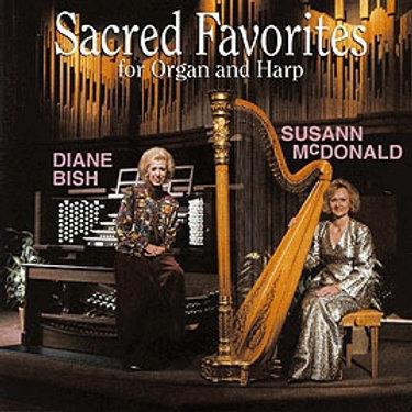 565 CD SACRED FAVORITES FOR HARP AND ORGAN