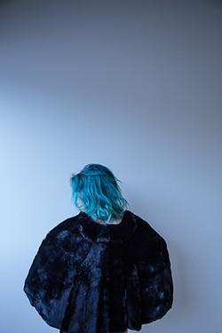 Vanessa G-Baker | Cheveux Turquoise