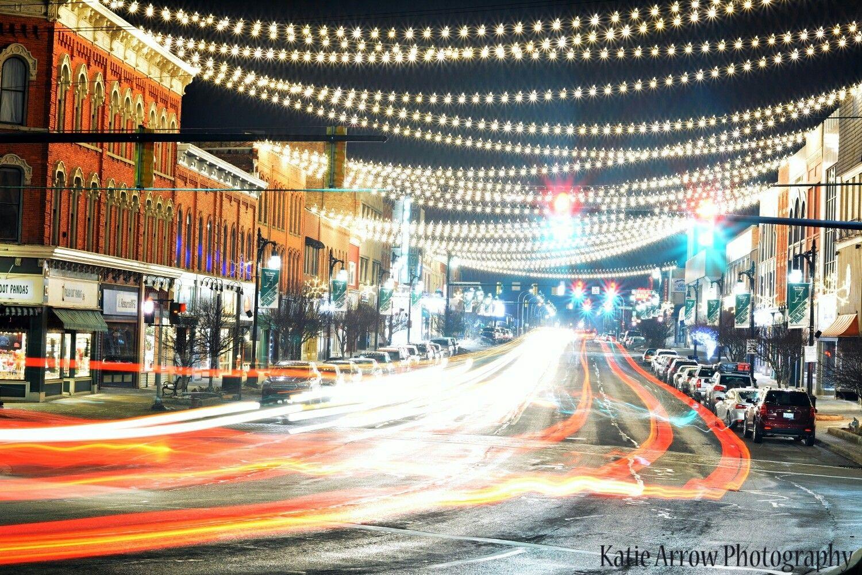 Downtown Port Huron Lights