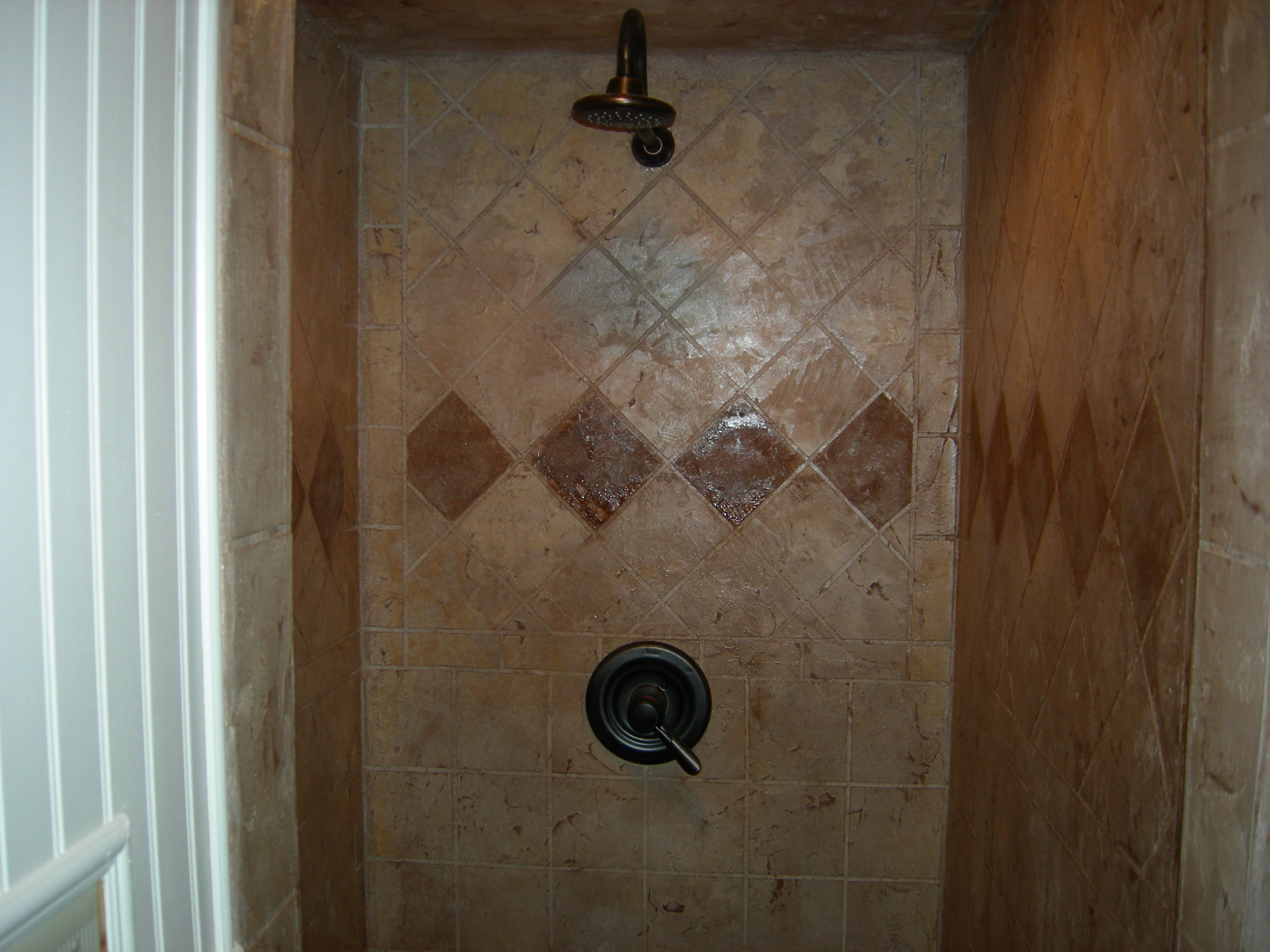Residential custom walk-in shower