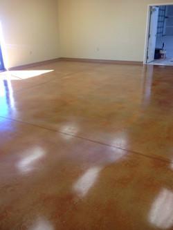 Commercial office floor