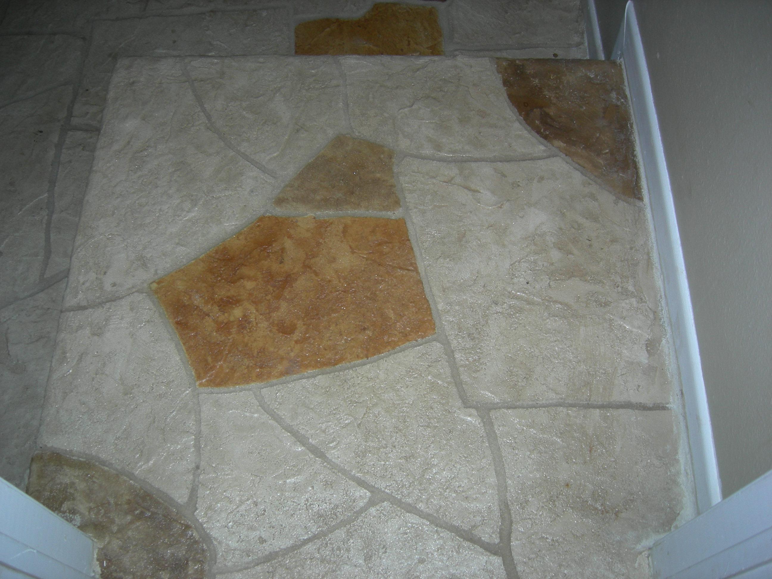 Residential den floor