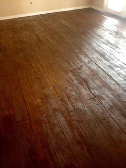 Residential bedroom floor
