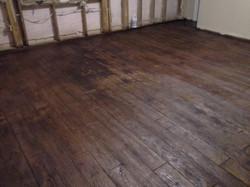 Residential basement floor