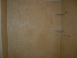 Residential custom walk-in shower
