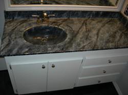 Residential bathroom sink