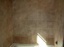 Residential custom shower