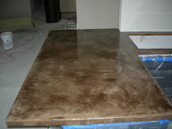 Residential kitchen countertop