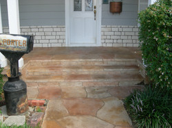 Residential front porch