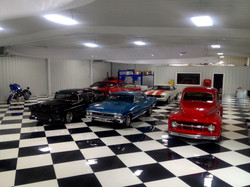 Collectible car garage