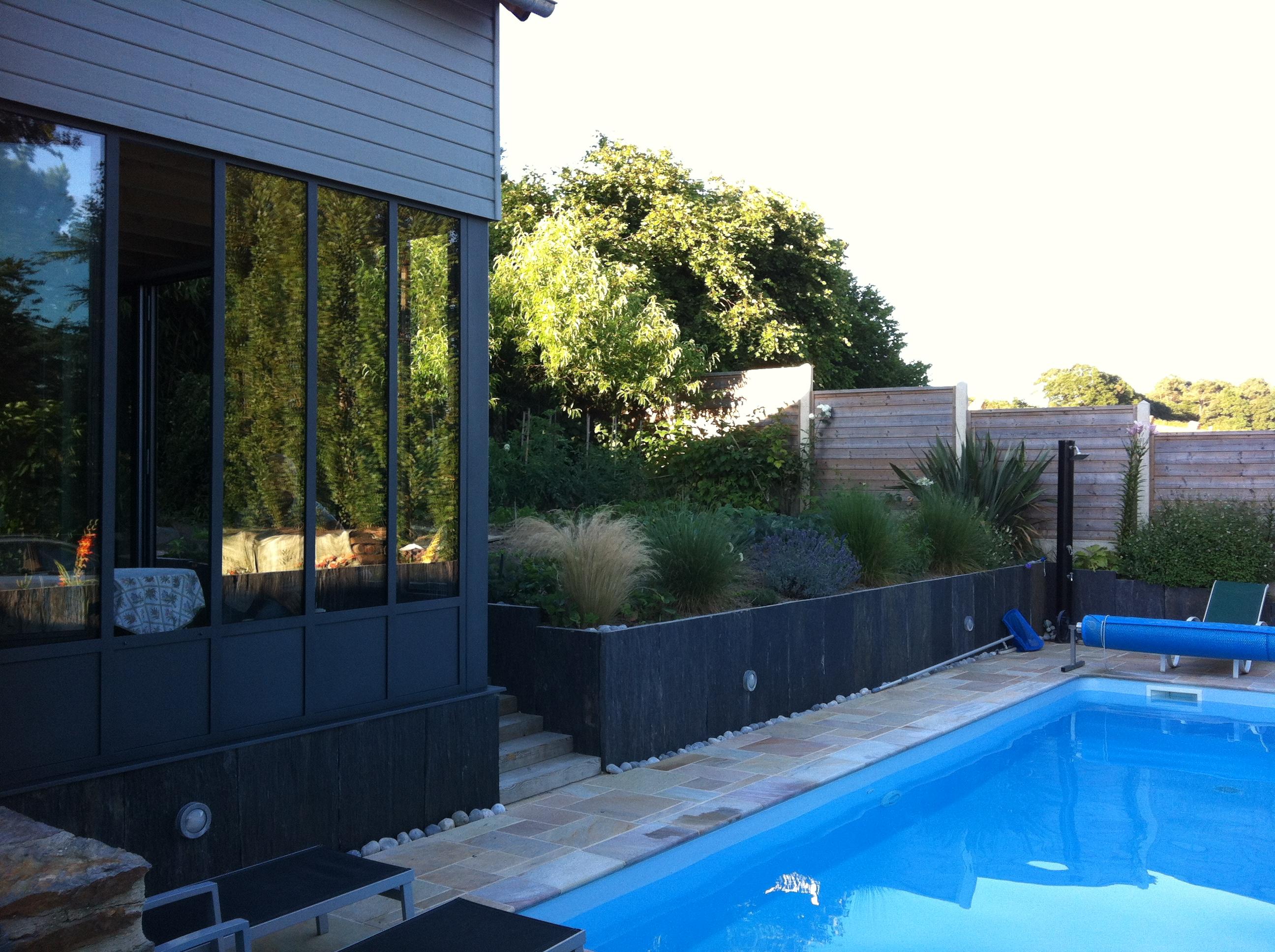 Création de jardin au sud de Rennes