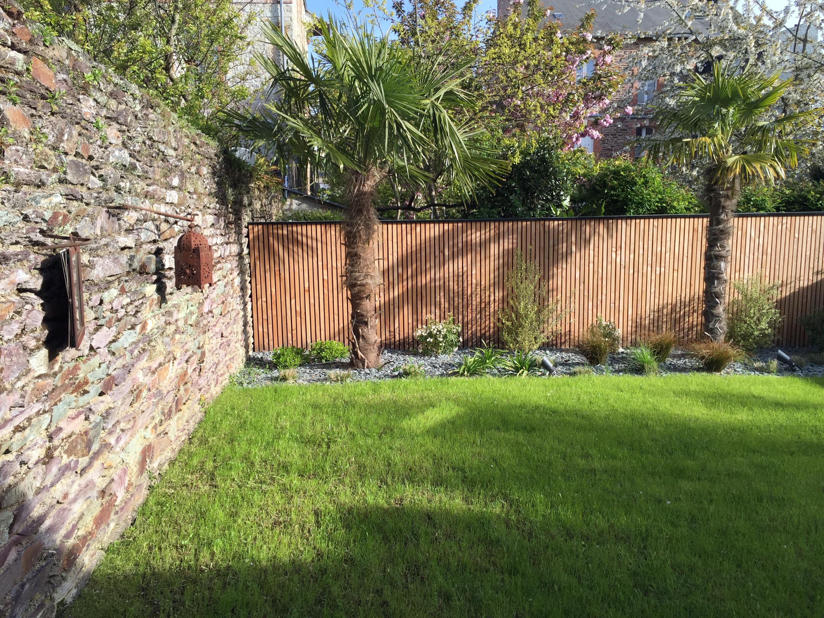 Aménagement de jardin - Rennes (35)
