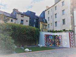 UNIQLO Rennes - patio
