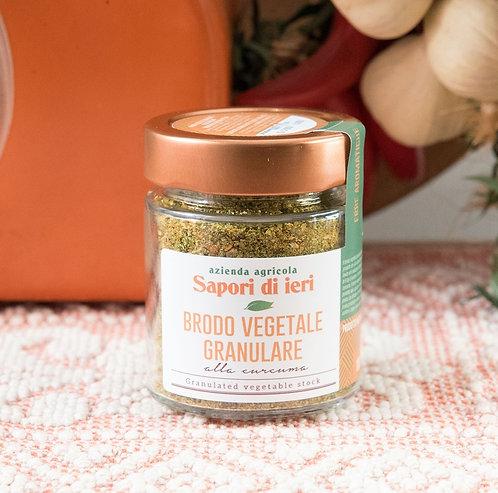 Brodo vegetale granulare alla Curcuma