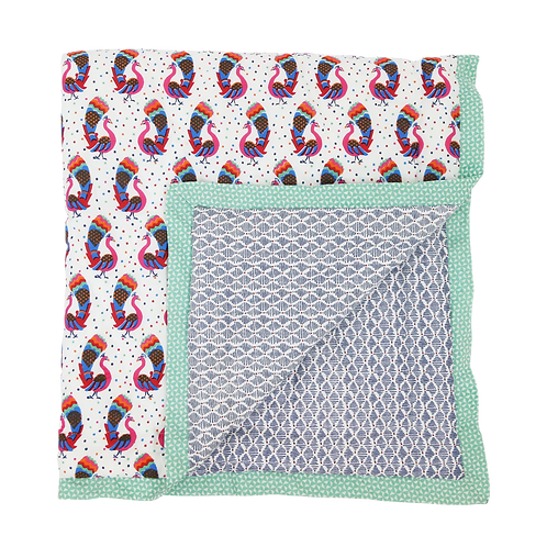 Single Quilt Peacock