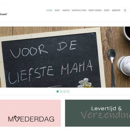 Spiksplinternieuwe webshop