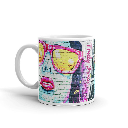 Truly Free Sunglasses Fashion Mug