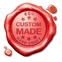 Red wax seal showing ECO's custom made hand crafted logo