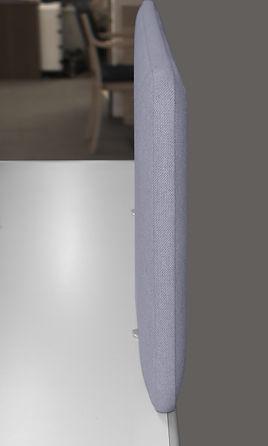 smarty acoustic desk partitions - exam desk dividers