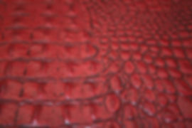 Antique Red Croc Hide.JPG