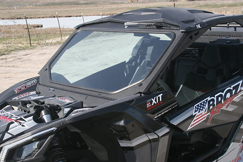 Can Am Maverick X3 Vented Glass Windshield