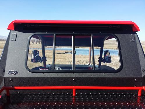 Polaris General 1000 >> Rear Windows | ryfab